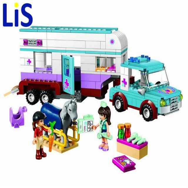 Lis BELA 10561 Friends Heartlake Pet Hospital Building Blocks Sets Diy Bricks Christmas gifts Toy Compatible Lepin Friend