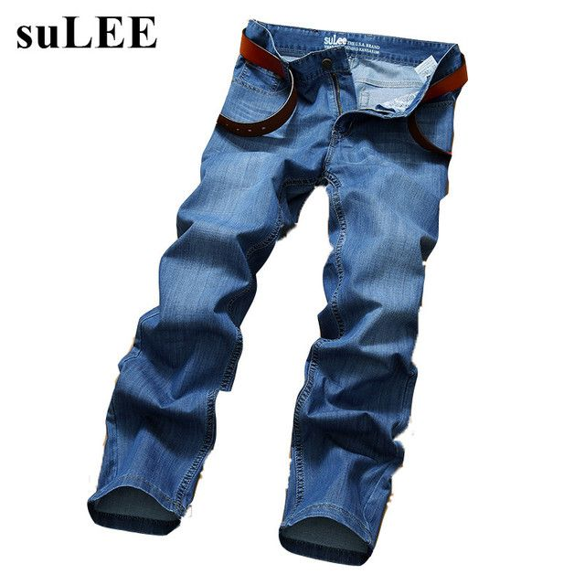 SuLEE brand 2017 Men Brand Jeans Male Casual Straight Denim Men's Jeans Slim denim overall  Wholesale Brand Jeans  Biker jeans