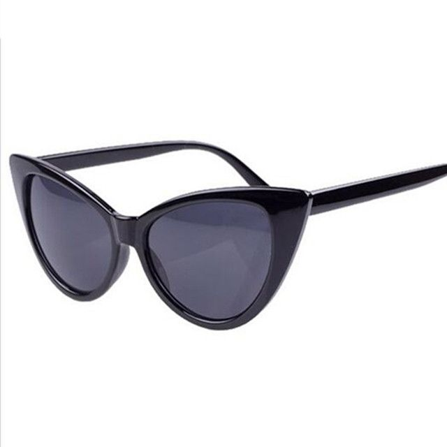 Vintage Cateye UV400 Sunglasses Fashion Sexy Women Brand Designer Sunglass Retro Sun Glasses oculos de sol feminino