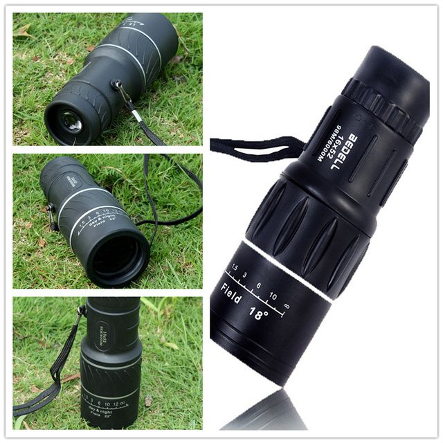 Spotting Scope Coating Lenses Dual Focus Telescope Zoom Green Optic Lens The North Binoculars Monocular Monoculo Free Shipping
