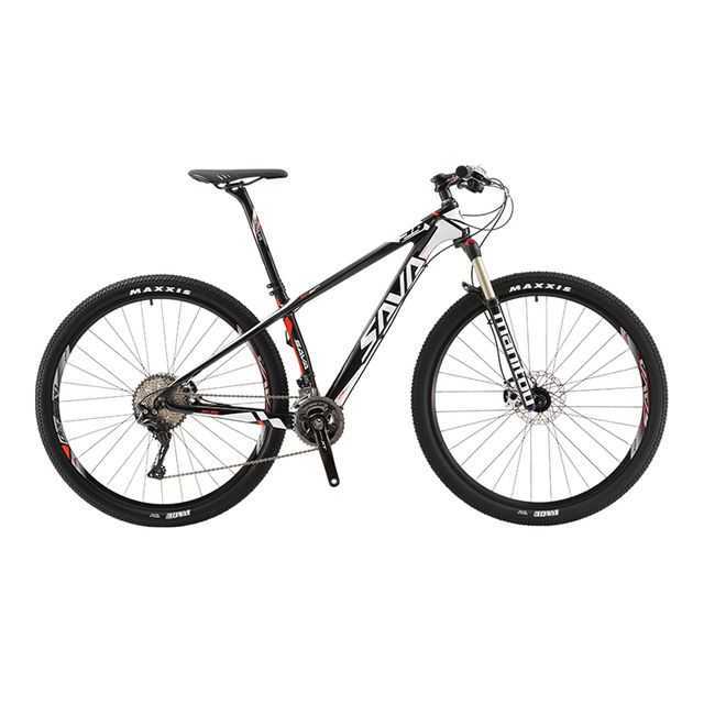 "SAVA DECK700 22 Speed Carbon Fiber T800 Mountain Bike 29"" Ultralight MTB Bicycle Cycle SHIMANO M8000 Derailleur Oil Gas Brake"