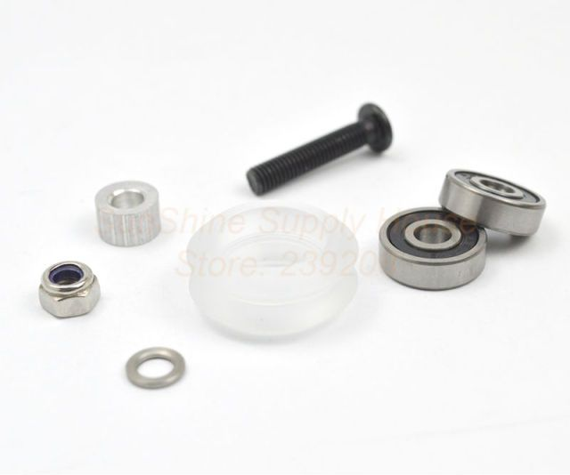 Xtreme dual v wheel Kit for VSlot OX CNC Poly Carbonate Free shipping