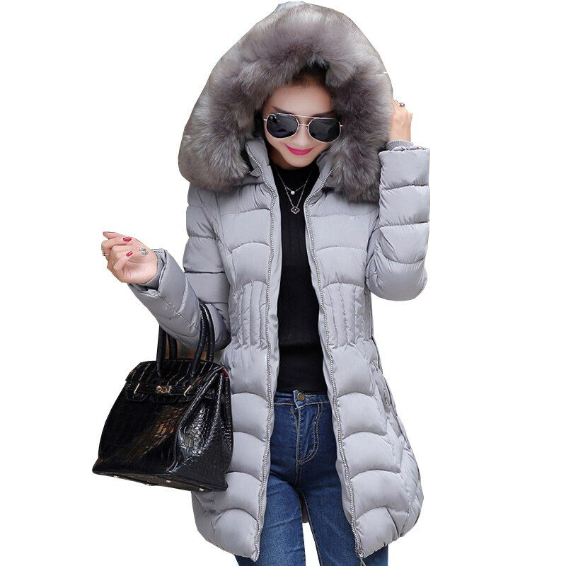 2017 winter down jacket women long coat parkas thickening Female Warm Clothes Nagymaros collar High Quality