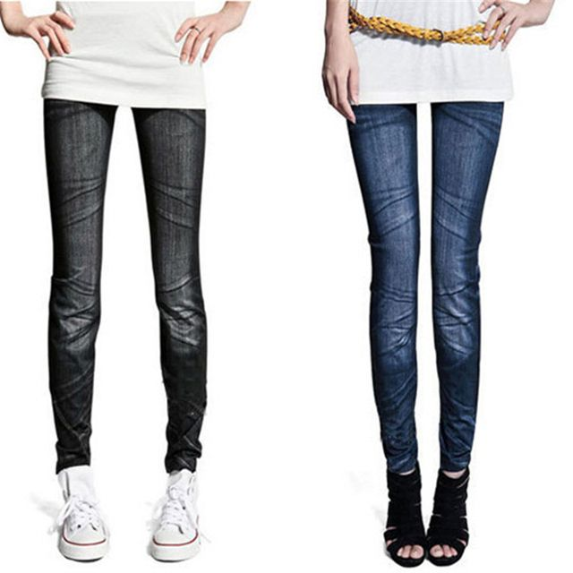0 Fashion Ladies Denim Sexy Skinny Jeans Jegging Tights Stretch Pants Trousers