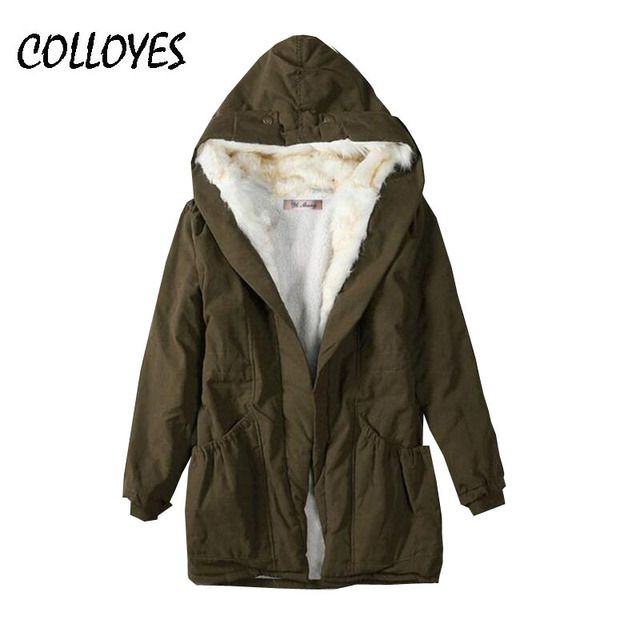 Plus Size 2016 winter women down jacket hooded cotton-padded jacket long loose Down Coat Slim Design Thick warm Jacket coat