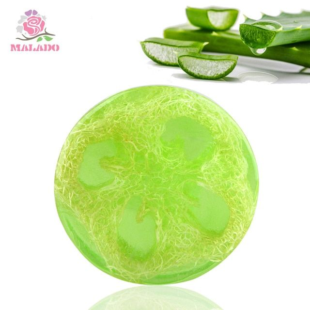Natural Aloe Handmade Soap & Skin Whitening Blackhead Remover Acne Treatment Oil Control