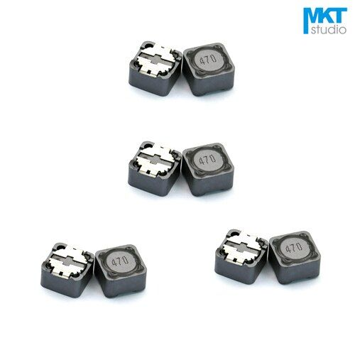 10Pcs SMD 12.3*12.3*8mm Winding Wire Wound Power Coilcraft Inductor 4.7/6.8/10/15/22/33/47/68/100/150/220/330/470/680/1000uH