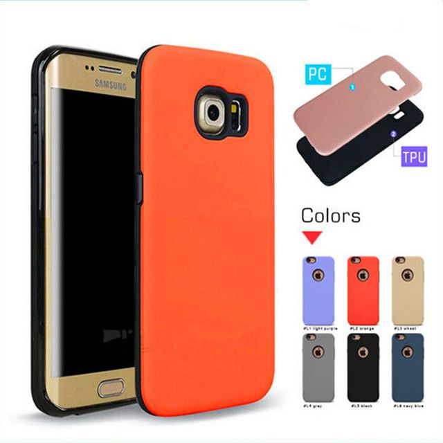 Turtle Box 2in1 case For Samsung S6/S6edge  PC+TPU Silicone Combo Ultra thin Armor Protection case cover For Samsung S6edge plus