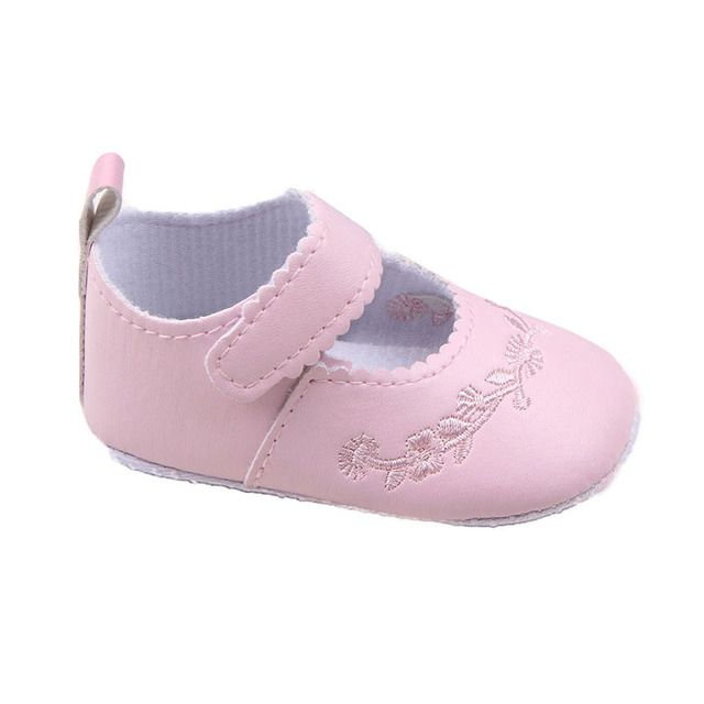 Newborn Baby Girl Shoes Prewalker First Walkers Lovely Sneakers Infant Kids Girls Princess Shoes