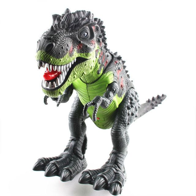 Electric Tyrannosaur Animal Battery Operated Simulation Dinosaur Toy Gift