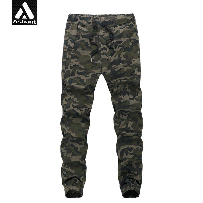 2016 Men's Casual Pants Camouflage Military Style Trousers Size XXL XXXL 4XL 5XL Exercise Pants Fashion Army Green Trousers