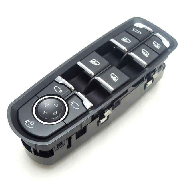 KEMiMOTO Front Door Window Switch For Porsche Panamera Cayenne Macan 7PP959858MDML