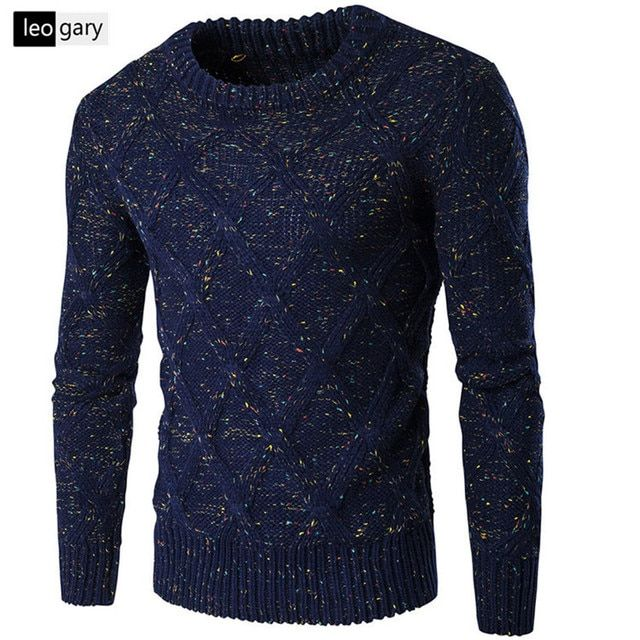 High Quality Standard Solid Pullovers Fashion  O-Neck Mens Sweaters Auturm & Winter Cashmere Men Formal Knitted Sweater