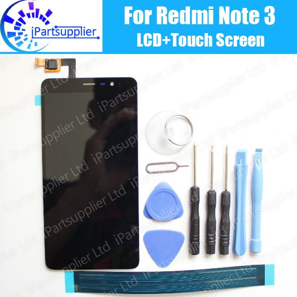 for Xiaomi Redmi Note 3 LCD Display+Touch Screen Assembly 100% New LCD Digitizer Glass Panel Replacement for Redmi Note 3