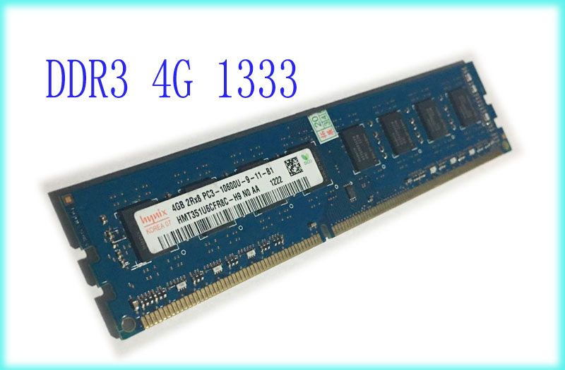 DDR3 4 gb ddr3 pc3-10600 1600 mhz 4g ram memory for Intel and AMD desktop compatible with 1600mh