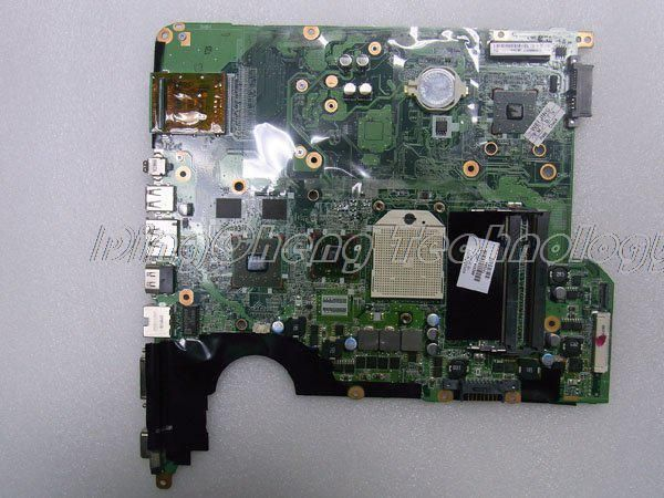 45 days Warranty laptop Motherboard For hp pavilion DV5 482324-001 for AMD cpu with 4 video chips non-integrated graphics card