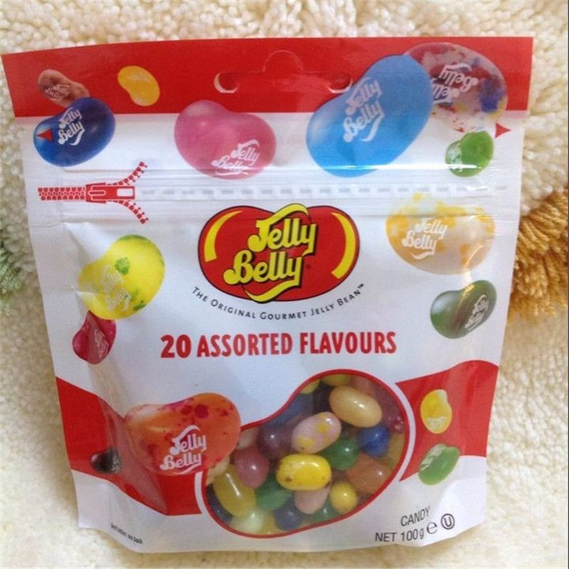 Hot sale 100g Snack Confection Candy Bean Strange Taste Harry Potter Jelly Beans Candy Bean Boozled Gift Bag Kid Food Christmas