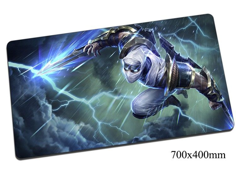 Zed mouse pad 700x400x2mm gaming mousepad gear lol gamer mouse mat pad Master of Shadows keyboard computer big mouse play mats