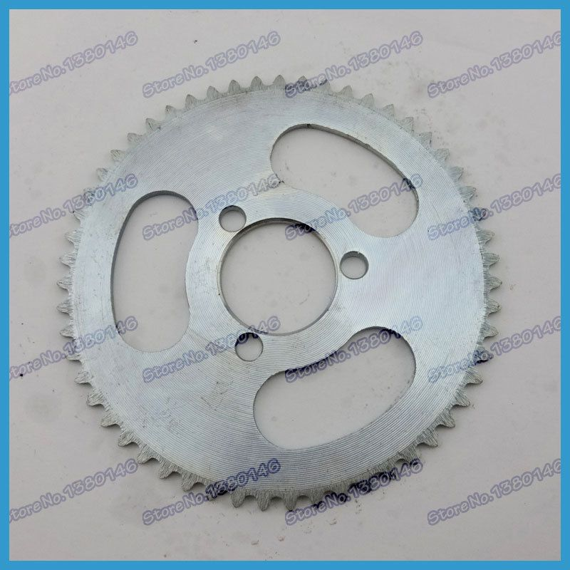 25H 55Tooth 29mm  Rear Sprocket For 47cc 49cc Gas Petrol Electric Pocket Bike Mini ATV Goped Scooters Mini Chopper Go Kart Parts