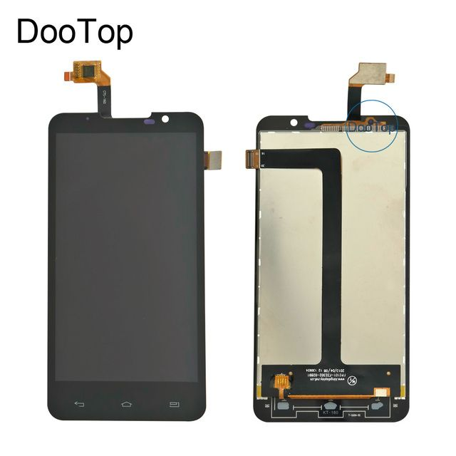Top Quality NEW For Highscreen Alpha R LCD Display +Touch Screen Digitizer Assembly Free tools kit