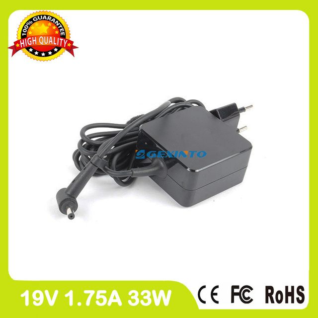 19V 1.75A 33W laptop adapter charger for Asus VivoBook F202E R103B R103BA R200CA R202CA S200E S200L X200