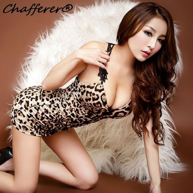 Chafferer Black Lace Leopard Sexy Lingerie Summer Sexy Underwear Women Backless Adult Sex Shop Hot Erotic Nightclub Costumes