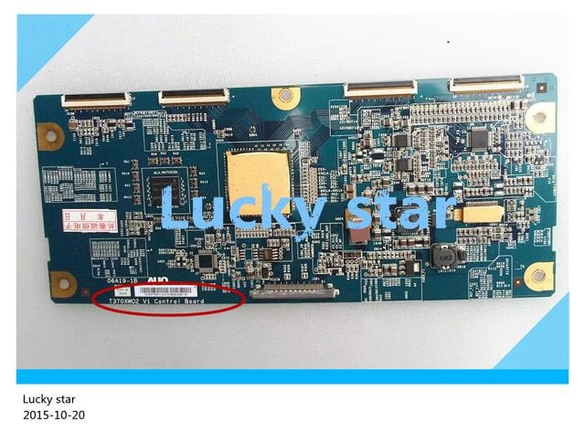 good working High-quality for original 98% new for board 37WL68C T370XW02 V1 06A19-1B T-con logic board