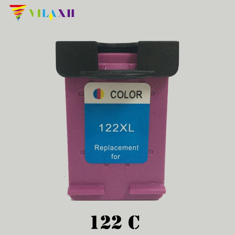 122 XL Remanufactured Color Ink Cartridge 122xl for HP Deskjet 1000 1050 1050A 1510 2000 2050 2050A 2540 3000 3050 3050A Printer