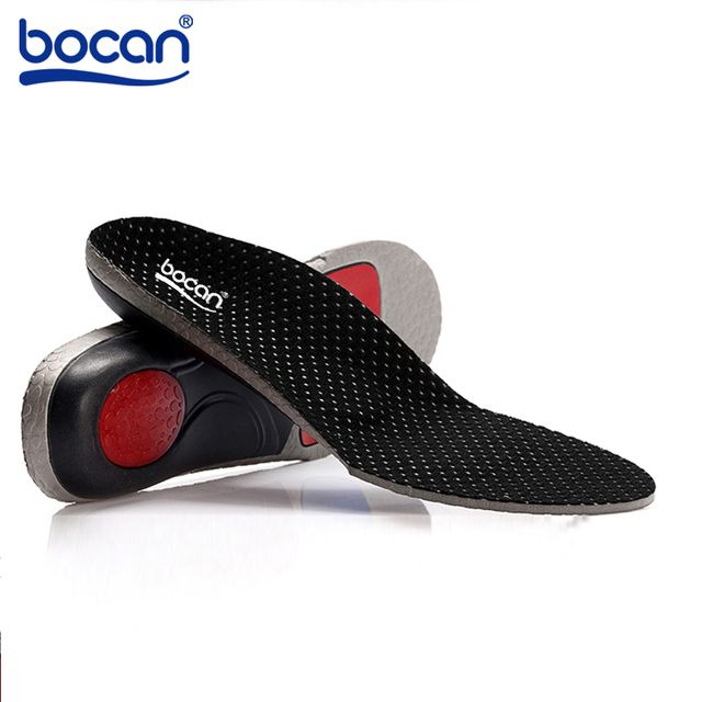 BOCAN Orthopedic insoles for flat foot orthopedic arch support man and women shoe insoles shock absorption insoles 6010