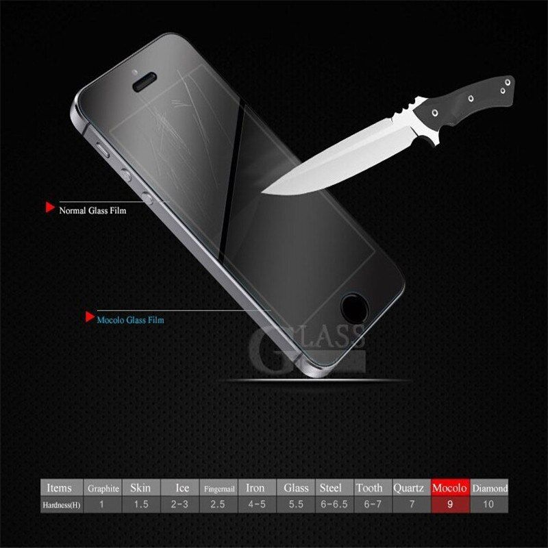 "Tempered Glass Screen Protector for iphone 6 4.7 "" High Clear LCD for iphone6 High Quality Front film TOP Quality 1000psc"
