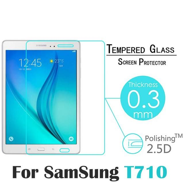 "For Samsung Galaxy Tab S2 T710 T715 8.0"" Ultrathin Premium Explosion-Proof Tempered Glass Screen Protector"