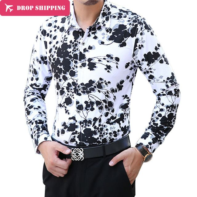 Camisa Sale Camisas 2017 New Fashion Casual Mens Shirt Long Sleeve Shirts Leisure Men Trend Quality Designer Hawaiian 6xl,tx02