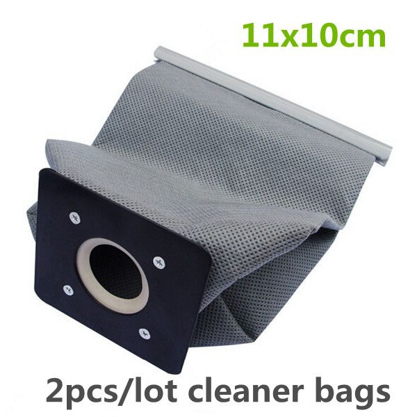 2pcs Practical Vacuum Cleaner Bag Non Woven Bags Hepa Filter Dust Bags Cleaner Environmental Bags Accessories For Cleaner 11x10