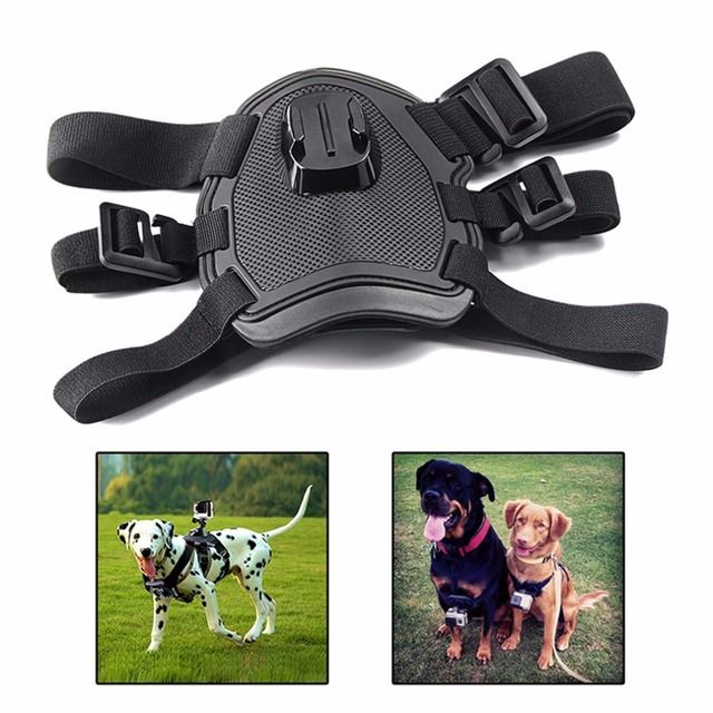 Action camera GoPro Accessories Dog Fetch Harness Chest Strap Shoulder Belt Mount For Go Pro Hero 4 3 2 SJ4000 WIFI sport Camera