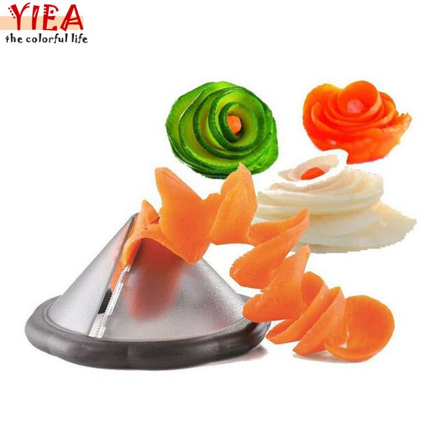 creative kitchen gadgets vegetable spiralizer slicer tool/ kitchen accessories cooking tools