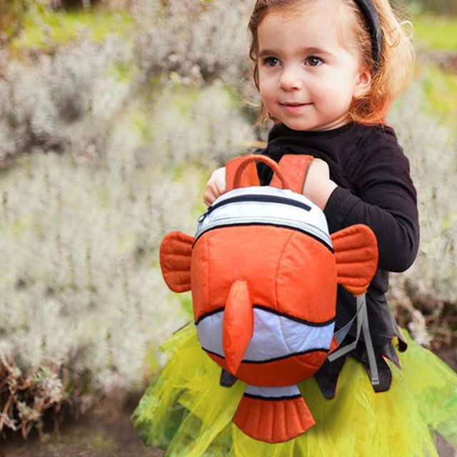 New Fashion Baby Cartoon Backpack Kindergarten Baby Girl Boy School Bags Children Casual Shoulder Bags