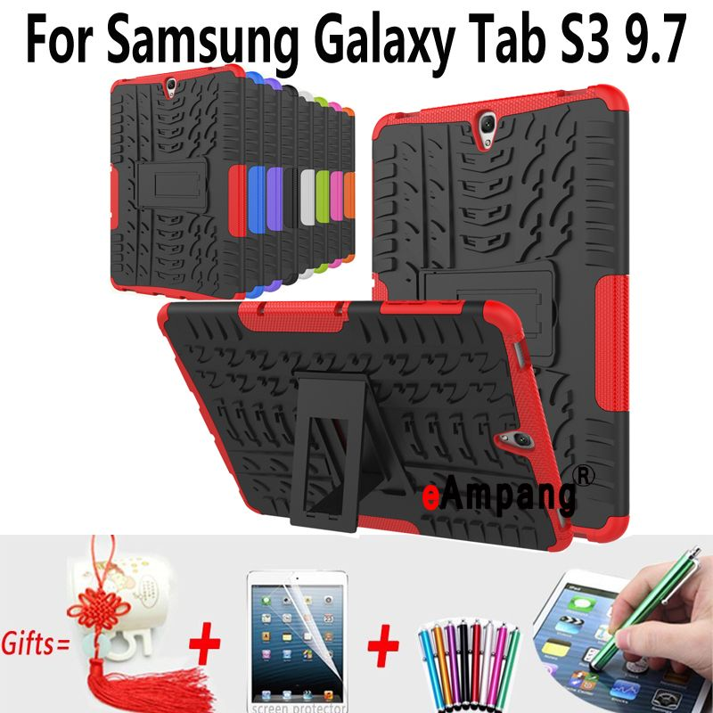 Tablet Case For Samsung Galaxy Tab S3 9.7  T820 T825 Cover Case Silicon Shockproof Back Case For Samsung Tab S3 9.7 Cover