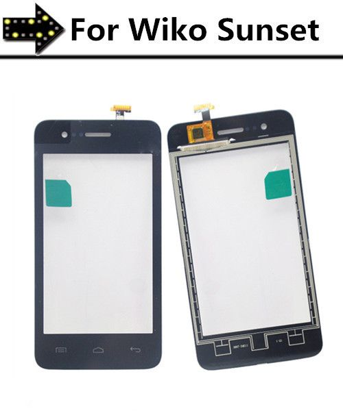 High Quality Touchscreen Digitizer For Wiko Sunset Touch Screen Digiti with flex cable Replacement parts!!!