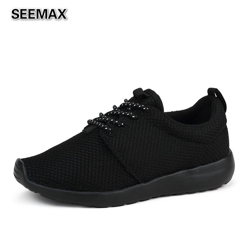 Summer Men And Women Running Shoes High Quality Breathable Super Light Shoes Air Mesh Outdoor Athletic Sports Jogging Sneakers