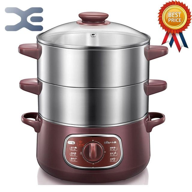 Bun Warmer 800W Cooking Appliances Food Warmer Steamed Steamer Electric Steamer 220V 6-8L