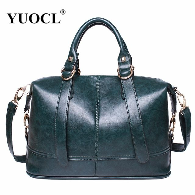 Luxury Leather Handbags Women Bags Designer Famou Brand Crossbody For 2018 Vintage Tote Shoulder Bolsa Feminina Sac A Main Mujer