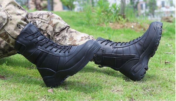 2016 Aabotas Boots Army Men Airsoft Tactical Combat Waterproof Breathable Warm Military Outdoor Hiking Gym