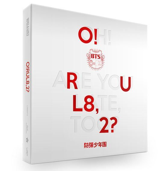 BTS 1ST MINI ALBUM - O!RUL8,2?  PHOTOCARD BOOKLET INCLUDED KPOP