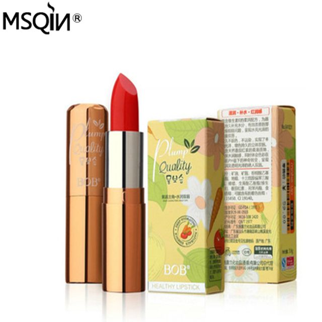 2016 Good Brand Pregnant Use 2 Colors Lycopene And Carotene Temperaure Changed Color Nutritious Lip Stick Glossy Moisturizer