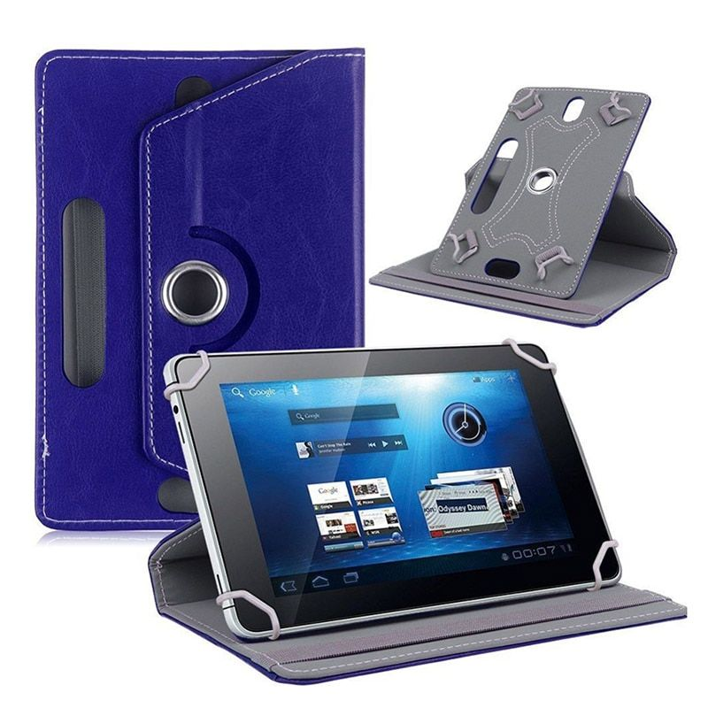 360 Rotation universal 7 inch tablet leather case Stand Cover For Lenovo Tab A7-30 A3300 Android tablet 7 inch Accessories