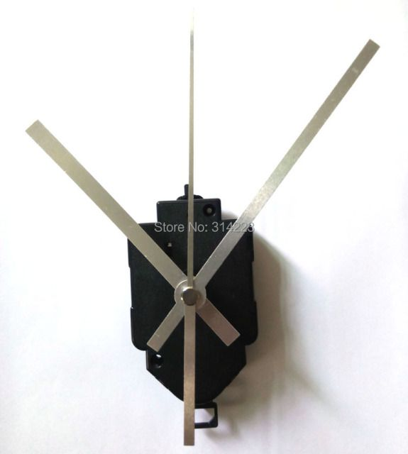 Free shipping 20 set Quartz Pendulum Clock Movement Kit Spindle Mechanism long shaft 22mm Jump seconds tick sound mechanism