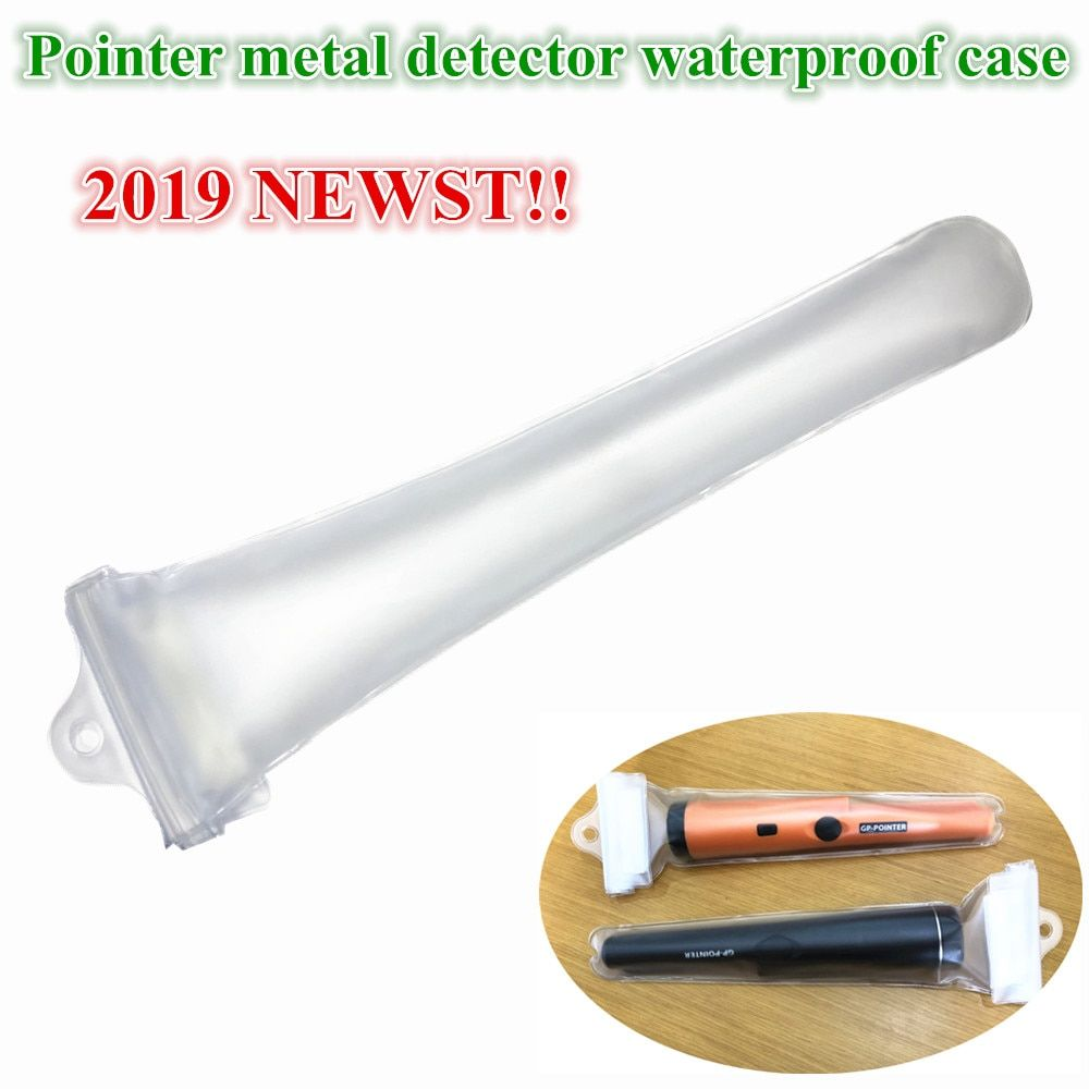 Metal Detector Waterproof Case for Pointer Pinpointing Underwater Cover Hand Held Metal Detector Dustproof Case Clear