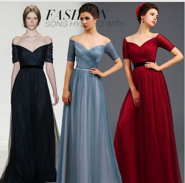 Long Formal Party Dress Fashion Sexy Backless A-line Short Sleeve New Chiffon Plus Size Party Dresses Ladies' Elegant Dress