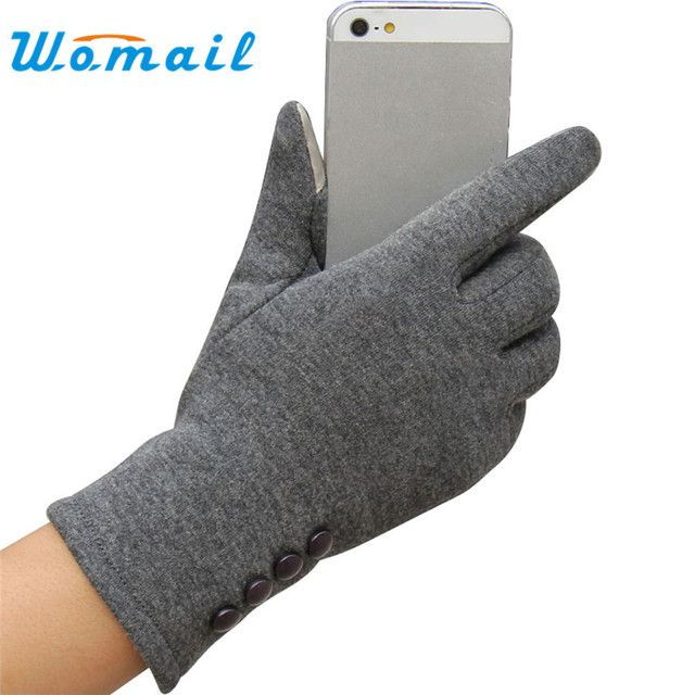 Newly Design Fashion Womens Winter Outdoor Sport Warm Gloves Sep21 Drop Shipping