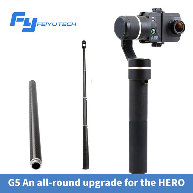 DIGITALFOTO FEIYU G5 gopro hero 3 axis handheld gimbal stabilizer action camera 3-axis Gimbal steadicam splashproof gimbal